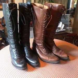 Born lace up boots bundle